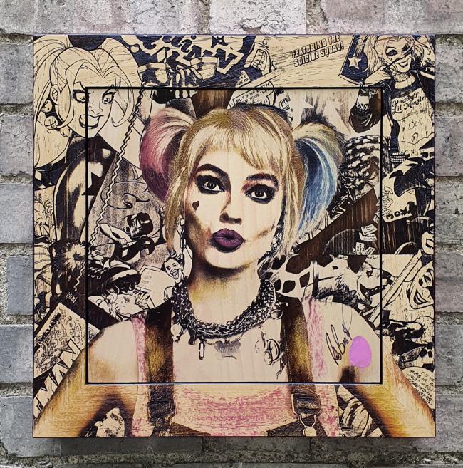 Harley Quinn by Rob Bishop
