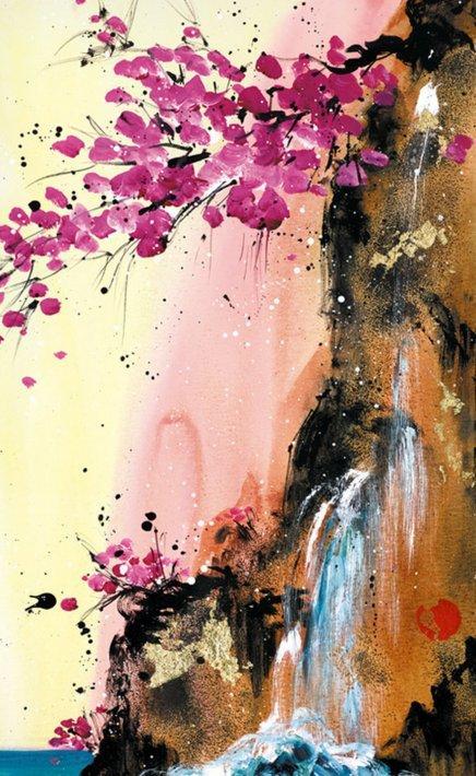 Heavens Kiss I by Danielle O'Connor Akiyama
