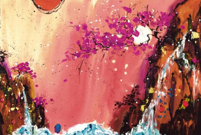 Heavens Kiss III by Danielle O'Connor Akiyama