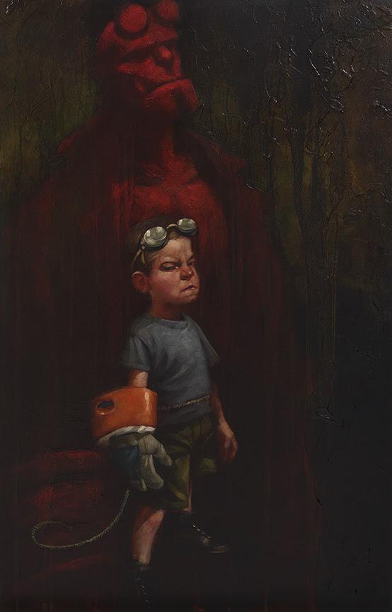 Hell Yeah (Hell Boy) by Craig Davison