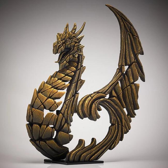 Heraldic Dragon (Golden)