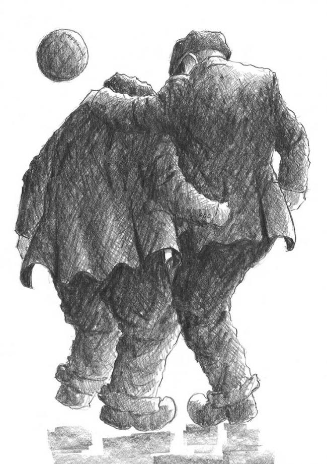 He's Fitba Crazy by Alexander Millar