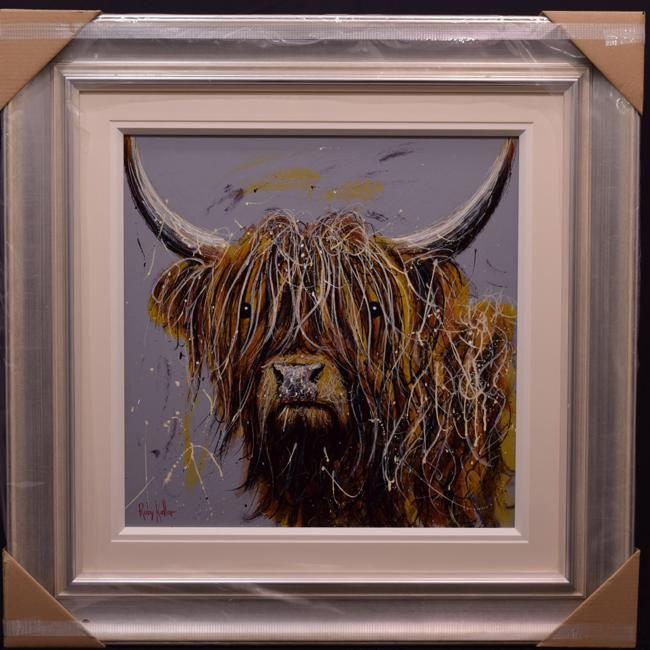 Highland Cow ii by Ruby Keller