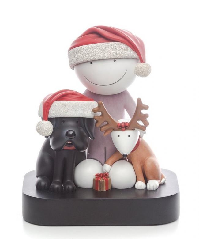 Ho Ho Ho - Sculpture by Doug Hyde