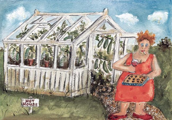 Hot House by Rebecca Lardner