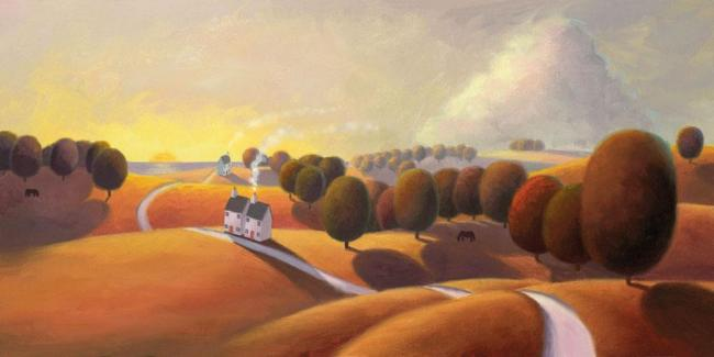 Hues Of Gold by Paul Corfield