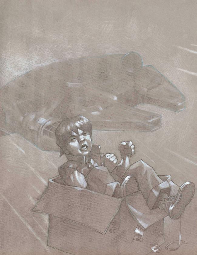 Hyperspace - Sketch by Craig Davison