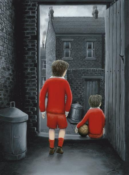 I Hope You've Got Your Scoring Boots On - Canvas by Leigh Lambert