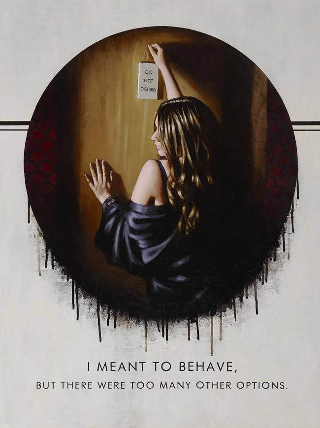 I Meant to Be Behaveby Richard Blunt