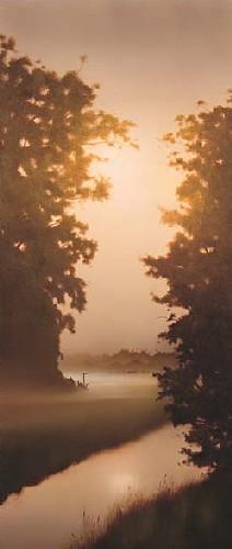 Into The Meadow by John Waterhouse