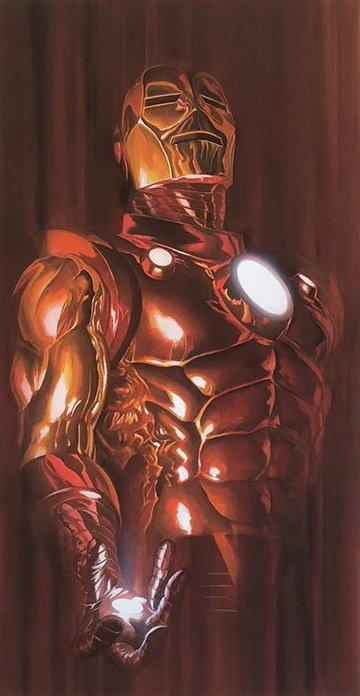 Iron Man - Shadows Collectionby Alex Ross