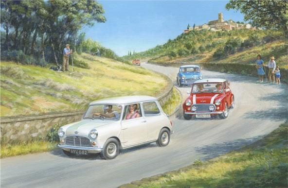 The Italian Job Lives 2 by Tony Smith