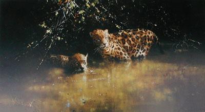 Jaguars by David Shepherd
