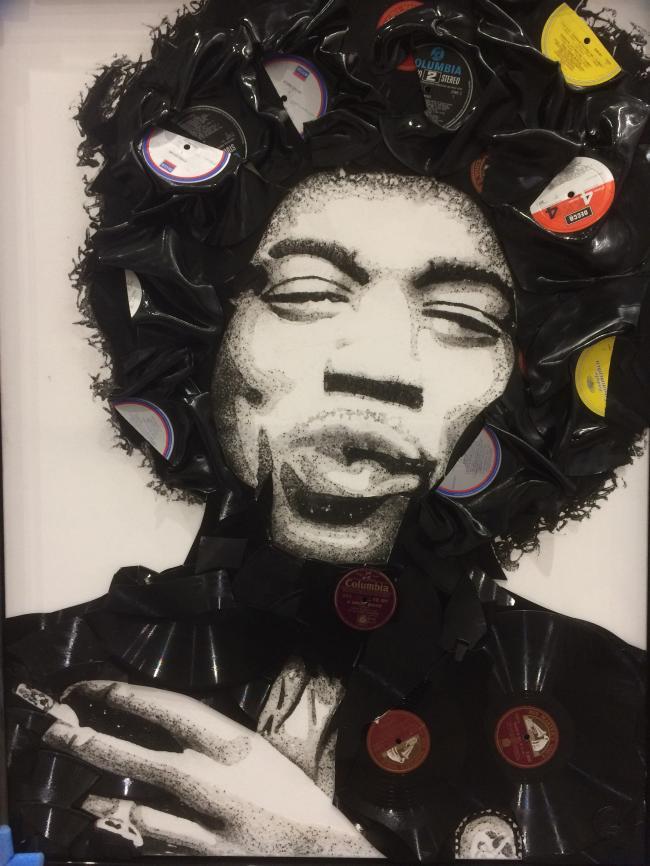 Jimi Hendrix by Ben Riley