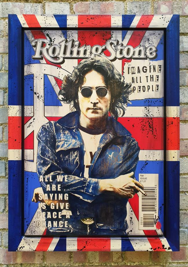 John Lennon by Rob Bishop