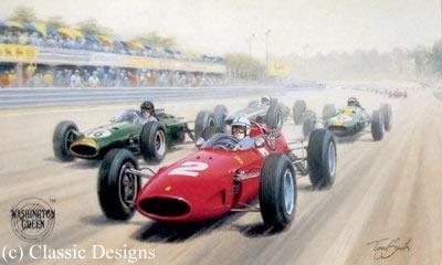 John Surtees - World Champion 1964 by Tony Smith