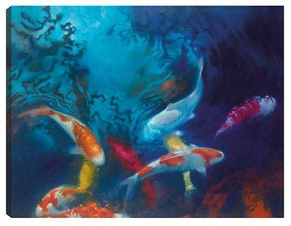 Koi Colours by Claire Frances Smith