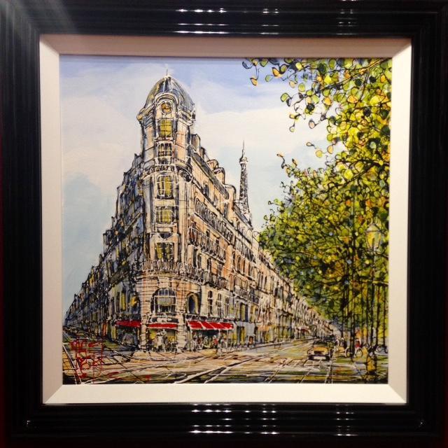 La Tour Eiffel by Nigel Cooke