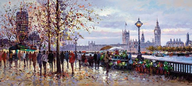 Lamplight, South Bank by Henderson Cisz