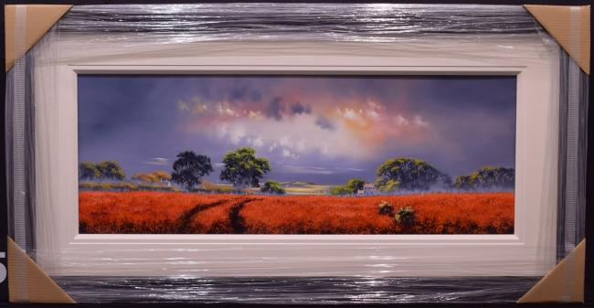Landscape Orange 40 x 15by Allan Morgan