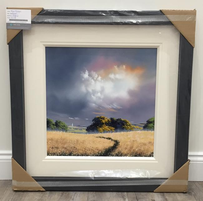 Landscape II (Creamy Gold) by Allan Morgan
