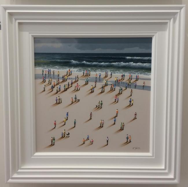 Large Beach I by Nurio Muro