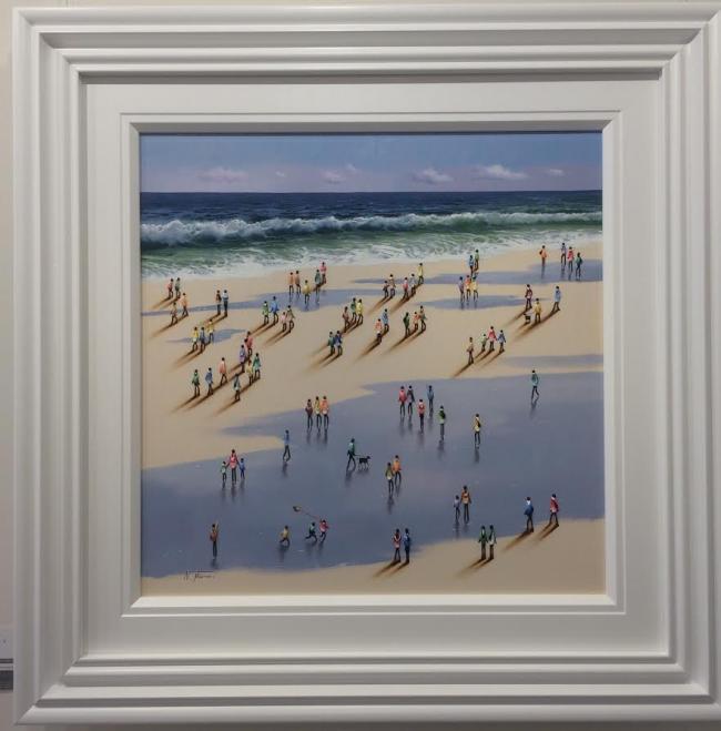 Large Beach II by Nurio Muro