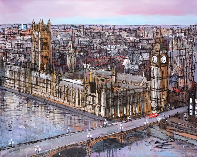 Late Afternoon Westminster by Paul Kenton