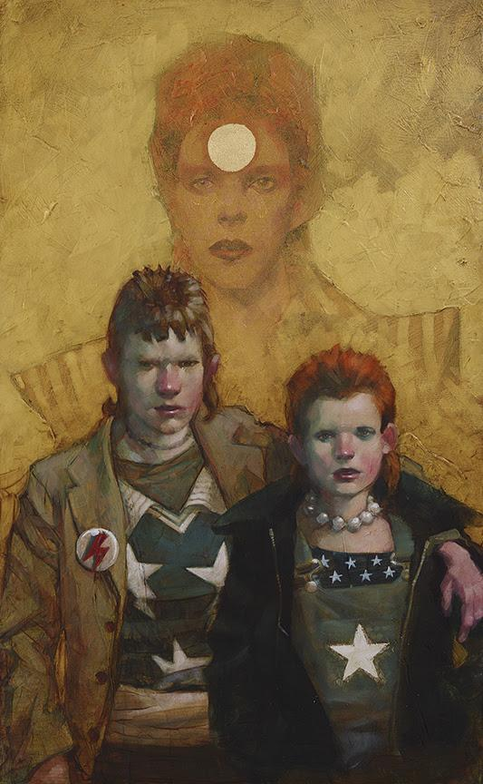 Let the Children Boogie (Bowie/Punk Couple) by Craig Davison