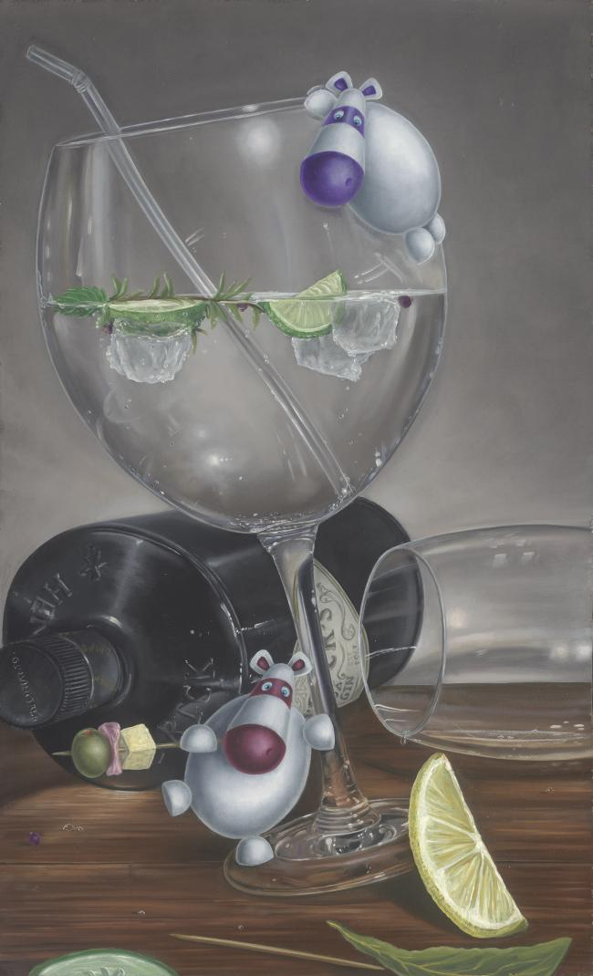 Let The Party Be Gin by Peter Smith