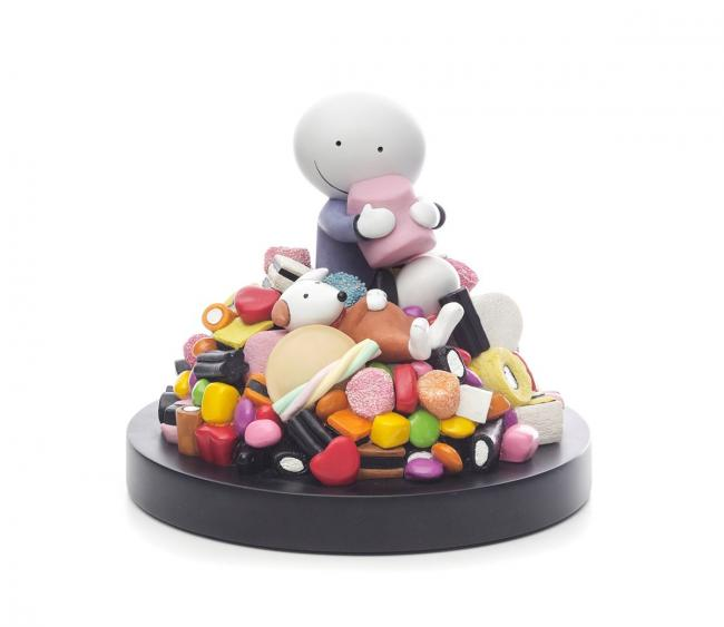 LAST COPY- Life is Sweet - Sculpture by Doug Hyde