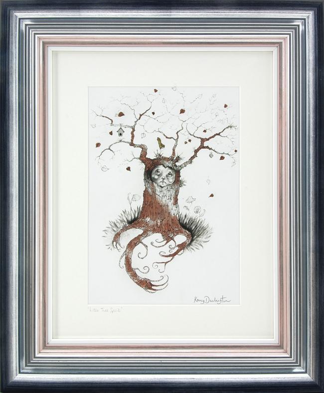 Little Tree Spirit Sketch by Kerry Darlington