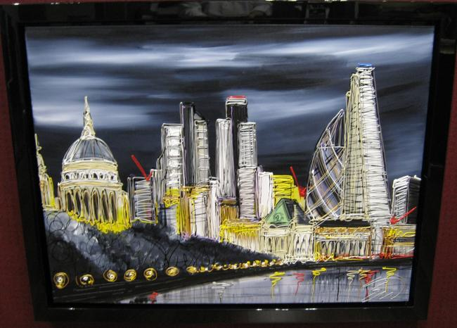 London At Night by Edward Waite
