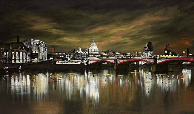 London Lit Up by Paul Kenton