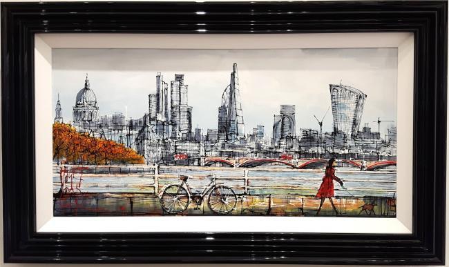 London Stroll by Nigel Cooke