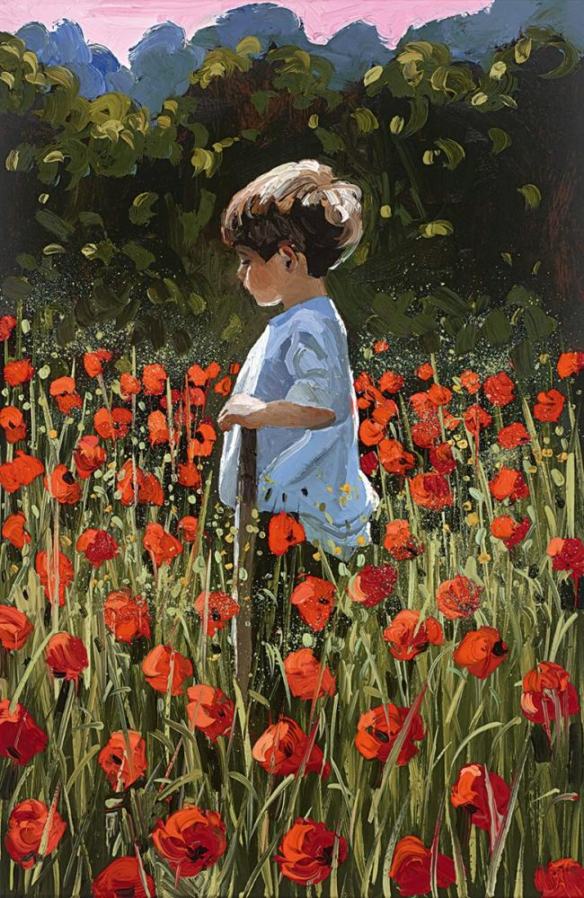 Lost Amongst The Poppies by Sherree Valentine Daines