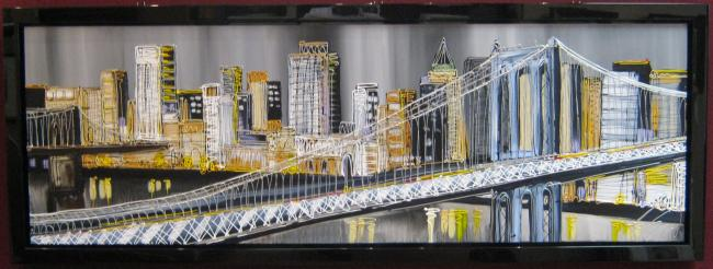 Manhattan Bridge by Edward Waite