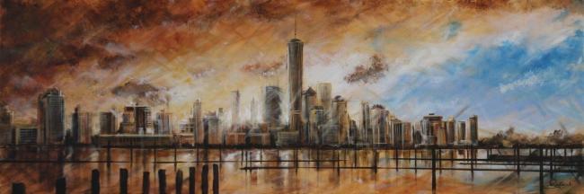 Manhattan Sunrise by Rayford