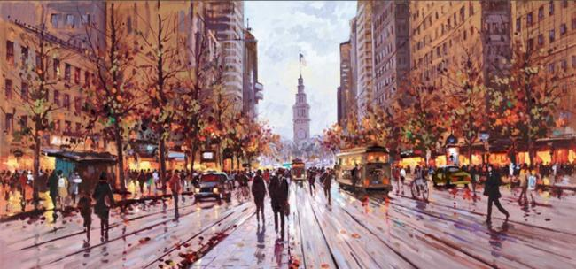 Market Street San Francisco by Henderson Cisz