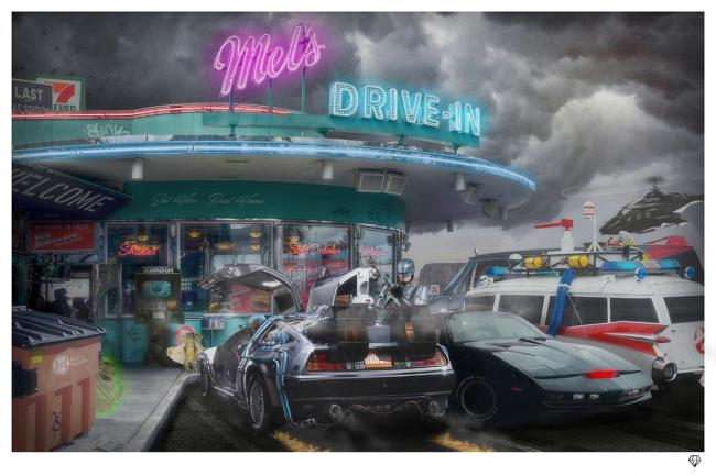 Mel's Diner by JJ Adams