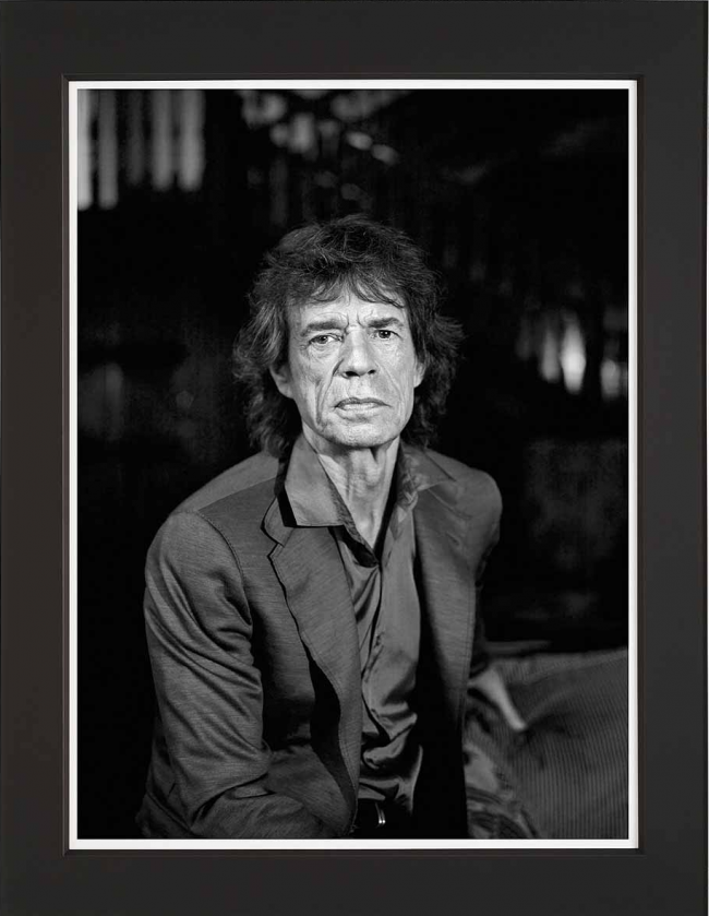 Mick - Large Format by Michael Donald