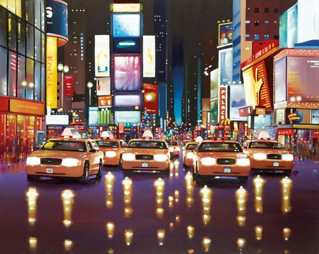 Midnight Adventure NYC by Neil Dawson
