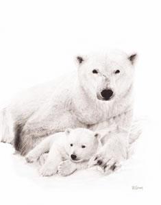 Mine All Mine- Polar Bears by Wendy Corbett
