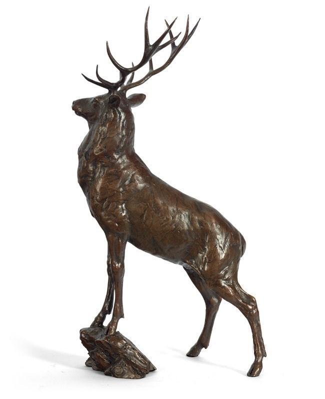 Monarch (Stag) by Michael Simpson