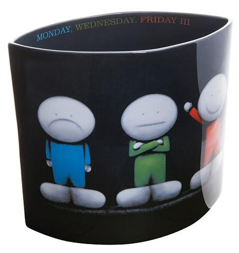 Monday Wednesday Friday III - Vase by Doug Hyde