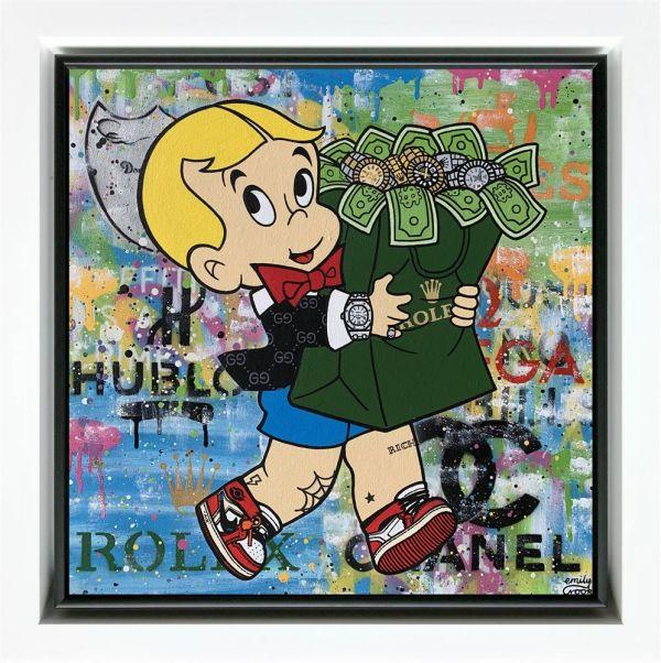 Money Bags- Richie Rich by Emily Crook