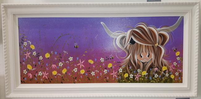 Moo On A Summers Evening by Jennifer Hogwood