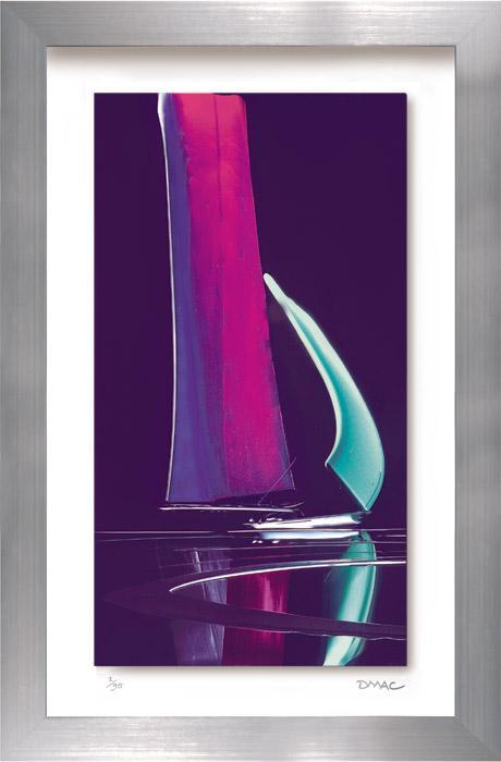 Moonlit Sails I by Duncan MacGregor