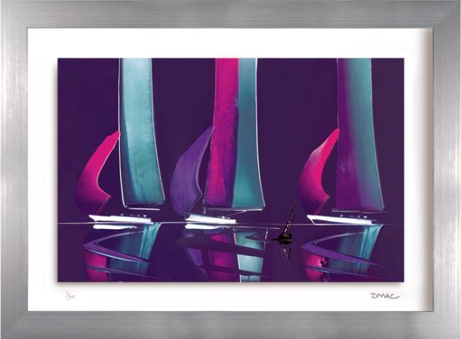 Moonlit Sails III by Duncan MacGregor