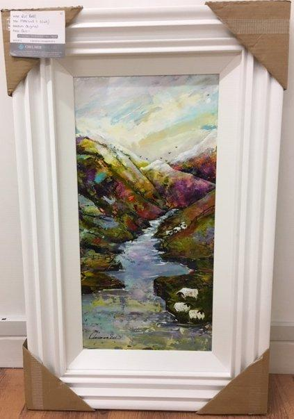 Moorland (12 x 24) by Rozanne Bell